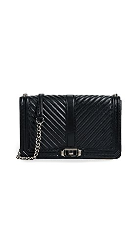 Body Minkoff Bag Rebecca Quilted Women's Cross Love Black Chevron Slim UwOpxwFq