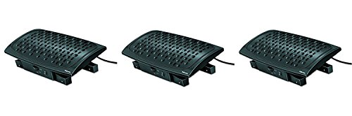 - Fellowes Climate Control Footrest (8030901) (Pack of 3)
