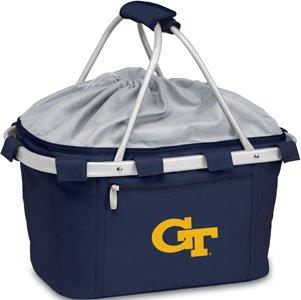 NCAA Georgia Tech Digital Print Metro Basket, One Size, Navy