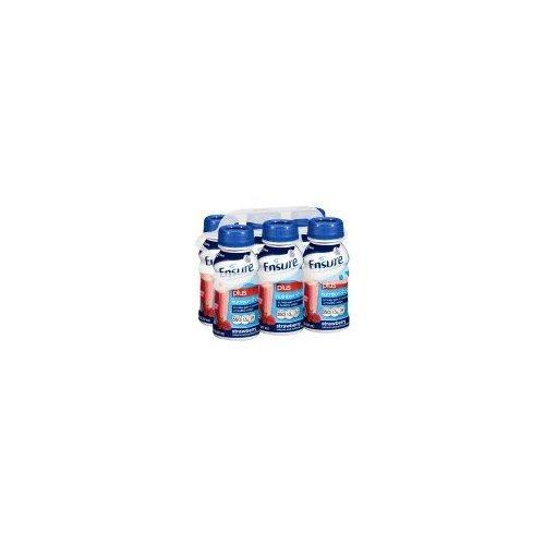Ensure Plus Balanced Nutrition Drink – Strawberry & Cream – 8 oz – 6 pk