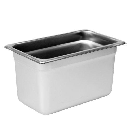 Excellante Quarter Size 6-Inch Deep 22 Gauge Anti Jam Pans