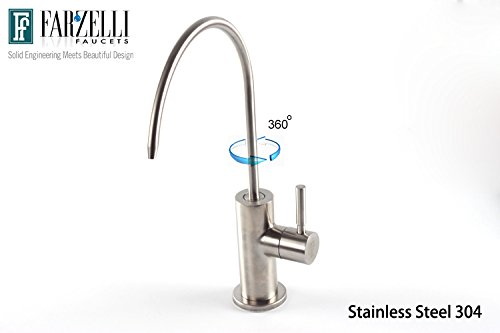 Water Filter Purifier Faucet Lead Free Drinking Water Dispensing (Cold Filter Faucet)