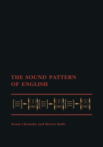 The Sound Pattern of English (MIT Press) by The MIT Press