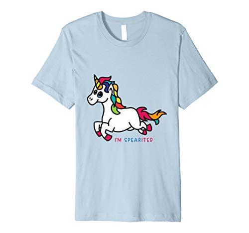 (I am SPEARITED Spirited Unicorn T)