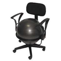 Ball Chair - Black by MaxiAids