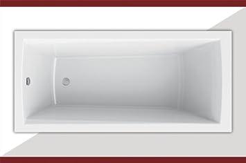 Rechteckbadewanne-Acrylbadewanne-Badewanne-Modell:Nora 150x70 Länge ...