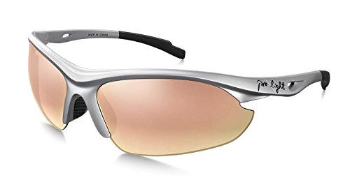 Prolight Jamaican Golf Sunglasses for Men and Women - Polarized Lenses, Reduce Eye Fatigue - Tinted Lenses Rose