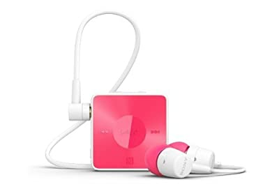 Sony SBH20 Smart Wireless NFC Bluetooth 3.0 In-Ear Headphones Stereo Headset Earbuds (Pink)