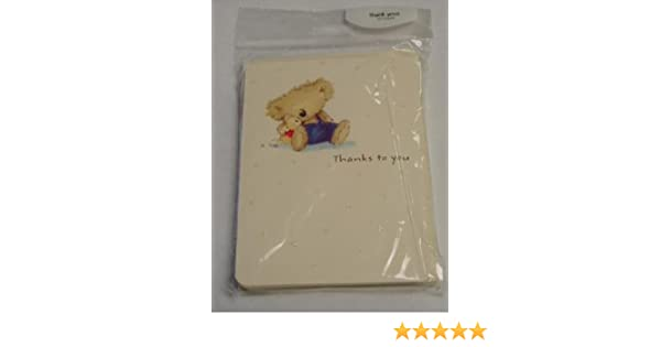 Amazon boomerang bear thank you cards envelopes health amazon boomerang bear thank you cards envelopes health personal care m4hsunfo