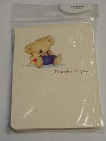 Amazon boomerang bear thank you cards envelopes health boomerang bear thank you cards envelopes m4hsunfo