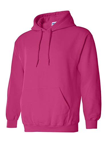 Gildan 18500 - Classic Fit Adult Hooded Sweatshirt Heavy Blend - First Quality - Heliconia - Large