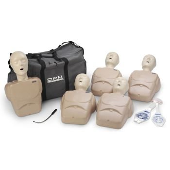 TPAK100T Adult/Child Manikin 5 Pack (Tan or Blue) by Nasco