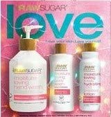 Raw Sugar Watermelon + Fresh Mint 3 Piece Gift Set Including Hand Wash, Body Wash and Body Lotion