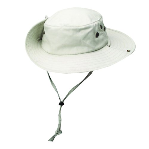 Dorfman Pacific Solarweave Boonie HAT (M, Oatmeal) - Pacific Military Hat