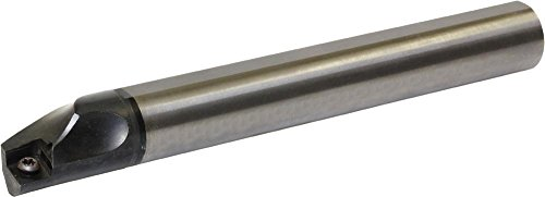 Kyocera E20S-SCLPL09-22A Carbide Boring Bar 0.8661in Minimum Bore Diameter 9.8425in OAL E-SCLP-A Toolholder Style Left Hand Screw Holding 5 Degrees Lead Angle by Kyocera