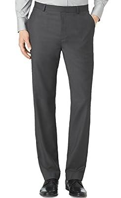 Calvin Klein Men's Straight Fit Dress Pants