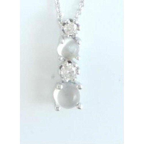 Collier Femme Elba/p001-c _ w or blanc cristal