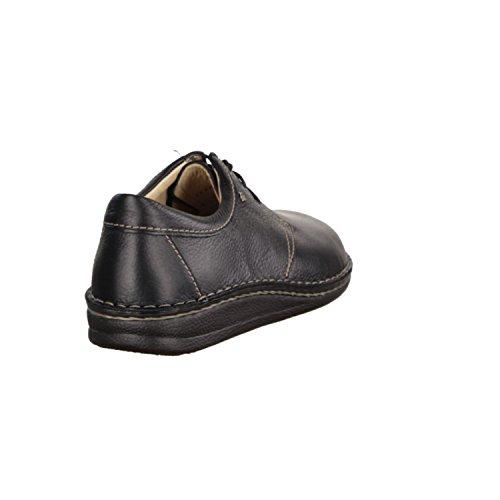 Finn Comfort Balboa - Zapatillas de cuero para hombre negro negro