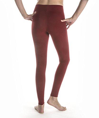 2ca8fb9b0dbfd9 MeMoi Cotton-Blend Yoga Pants | Women's Sports & Athletic Leggings Gray  Heather MQ 006