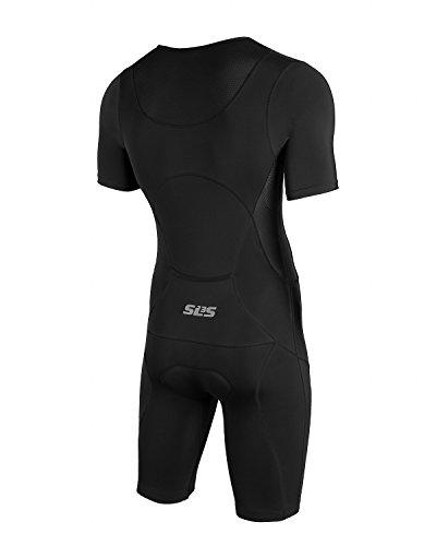 Men`s Triathlon Suit | Tri Suit | Short Sleeve | 1 Pocket | Skinsuit Trisuit | Great Fit And Comfortable | German Designed