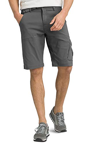 PRANA - Men's Stretch Zion Lightweight, Water-Repellent Shorts for Hiking and Everyday Wear, 10