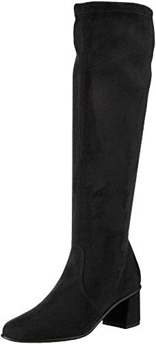 Chamois Black 01cm NR Black Boots I1101 Women's w B Rapisardi FqT1S
