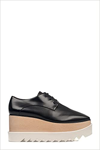 5fc33fbbb41c Stella McCartney Women s Black Elyse Shoes Lace-Up Shoe