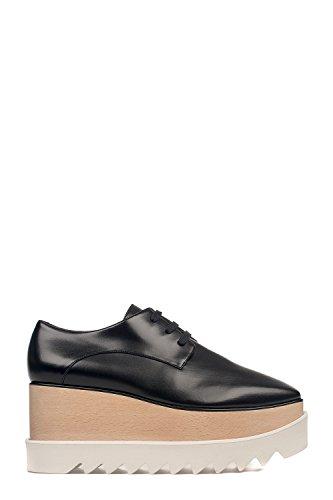 Zapatos De Cordones Mccartney Stella 363997W0XH01000 Negro Mujer Cuero 0UnXHnvW