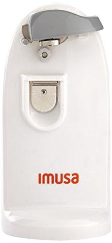 "IMUSA USA GAU-80322W 3-en-1 Electric Can Opener, 1"", White"