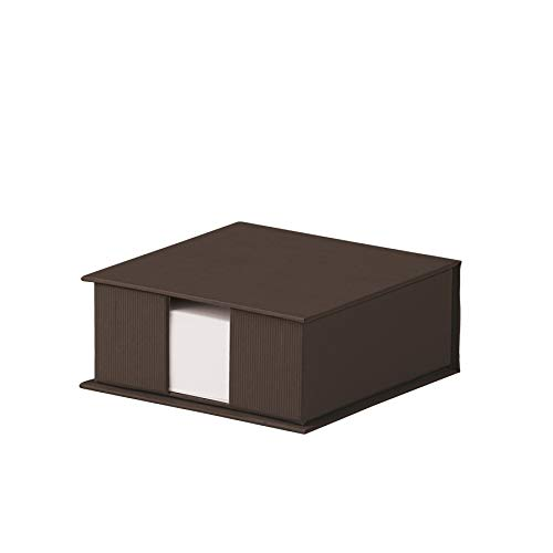 RÃssler Soho Square Refillable Jotter Box - Brown ()