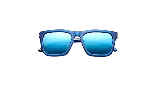 Gravitas Matte Midway Blue and Antique Brass Lenses With Pacific Blue Flash - Dior Kardashian Sunglasses Kim