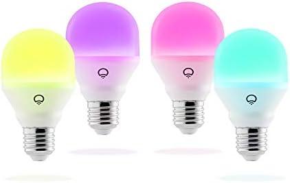 LIFX Mini 800-Lumen LED Light Bulb HB4L3A19MC08E26 Multi Colored