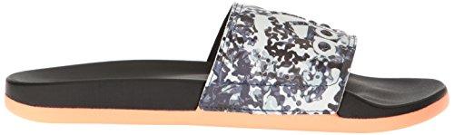 Adidas Originals Des Femmes Des Adilette Cf + Gr Sandales Slide Sport Noir / Blanc / Lueur Du Soleil
