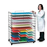 Nasco Rolling Paper Storage System - Arts & Crafts Materials - 9716656