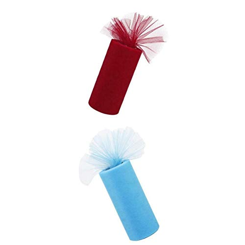 Anchor Bar Peppers - 2 Tutu Tulle Roll Spool Wedding Banquet Dress Gift/Decor Fabric Craft