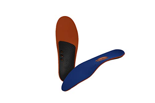 10 Seconds Classics Arch 1000 Performance Insoles 1 Pair, Size D: Men's 8-9 / Women's 10.5-11.5 ()