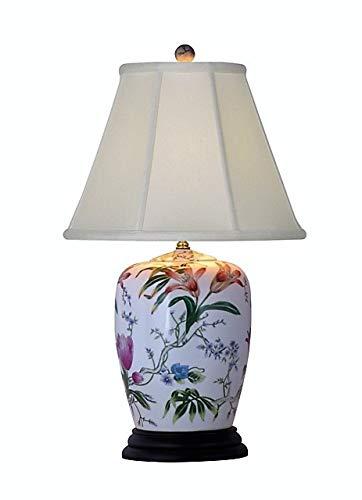 Jar Ginger Porcelain Lamp (25
