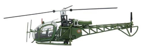 Aerospatiale Alouette II diecast 1:72 helicopter model (A...