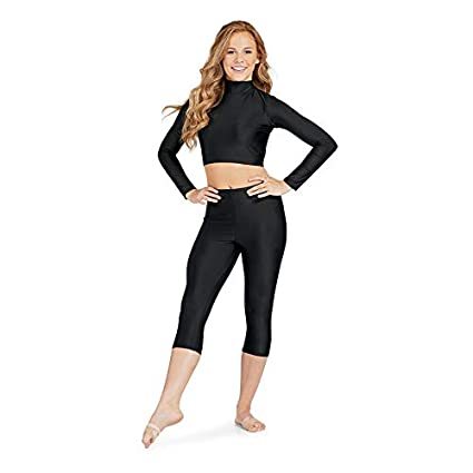9f8247ded87ce High Waisted Soft Capri Leggings for Women-Tummy Control and Elastic Opaque  Slim-One Plus Size 20+Design at Amazon Women s Clothing store