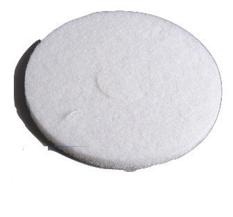 Oreck Orbiter Polyester Polishing Pad 1 Only (White) # 437-051