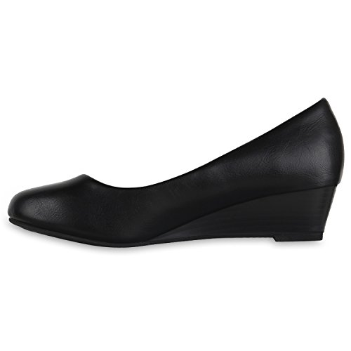 Stiefelparadies Women's Closed Black bZLMeITx