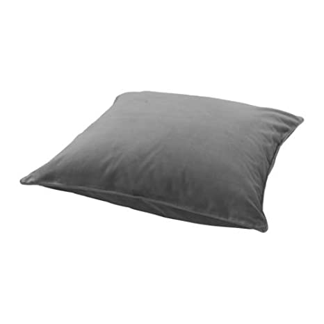 IKEA ¡SANELA - Funda de cojín, color gris - 65 x 65 cm ...