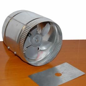 10 inch inline duct booster fan - 6