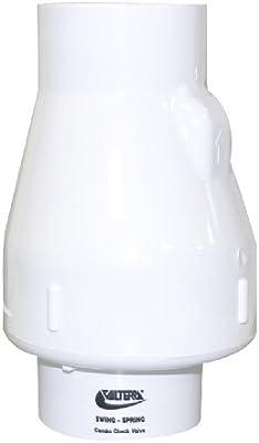 Valterra 200-30 PVC Swing//Spring Combination Check Valve 3 Slip 3 Slip Valterra Products White