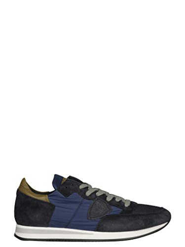 TRLUWX65 Noir Philippe Baskets Bleu Homme Tissu Model TOcqqIwrE