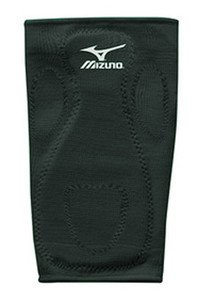 Black Adult, Mizuno Baseball/Softball Slider Kneepad Maxiumum Knee Protection from Slide (Baseball Sliding Knee Pad)