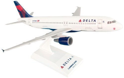 (Daron Skymarks Delta 320 New Livery Airplane Model Building Kit, 1/150-Scale)