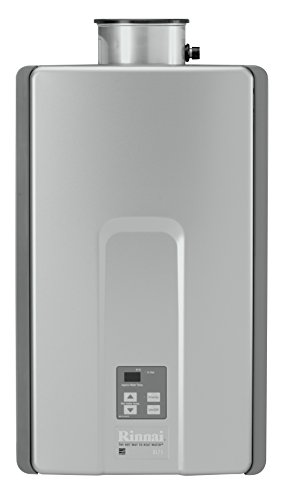 Rinnai RL75iN Natural Gas Tankless Water Heater, 7.5 Gallons Per Minute by Rinnai
