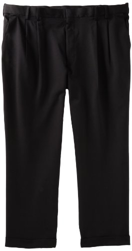 Van Heusen Men's Big and Tall Cuffed Crosshatch Pant