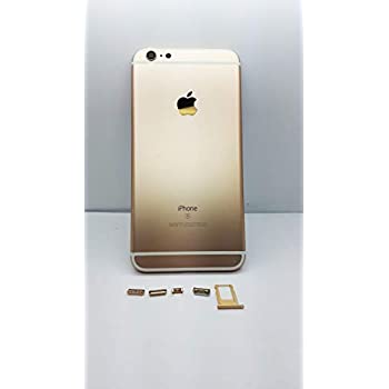 Amazon.com: E&B - Carcasa trasera de metal para iPhone 6S ...